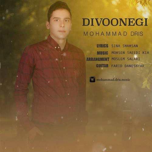 دانلود آهنگ جدید محمد دریس به نام دیوونگی