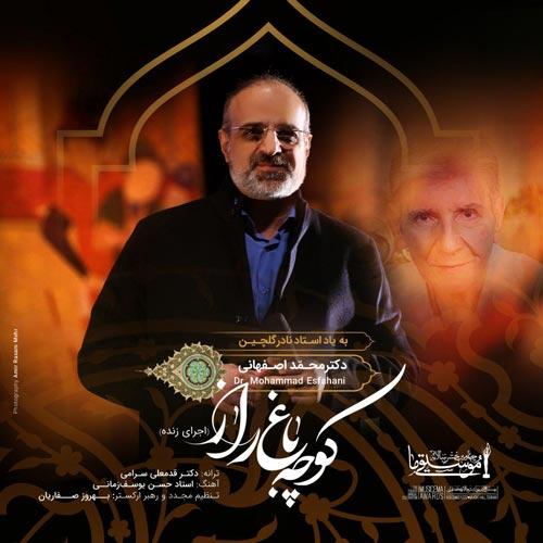 دانلود آهنگ جدید اجرای زنده آهنگ محمد اصفهانی به نام کوچه باغ راز