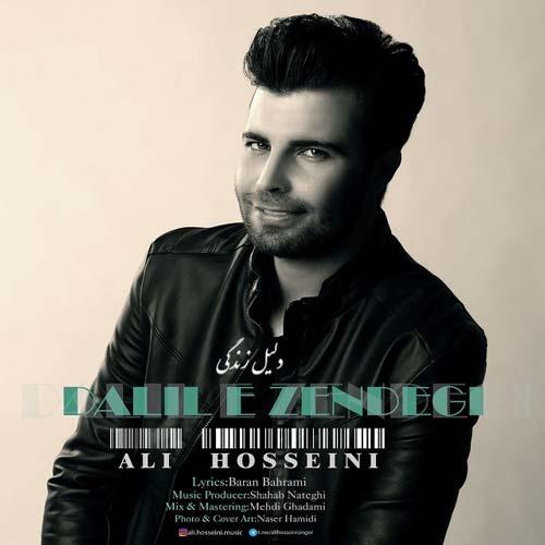 دانلود آهنگ جدید علی حسینی به نام دلیل زندگی