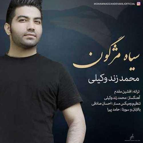 دانلود آهنگ جدید محمد زند وکیلی به نام سیاه مژگون