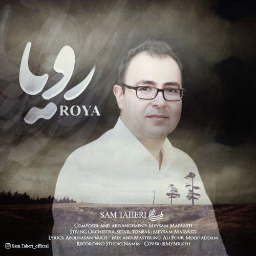 دانلود آهنگ جدید سام طاهری به نام رویا