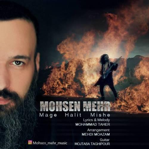 دانلود آهنگ جدید محسن مهر به نام مگه حالیت میشه