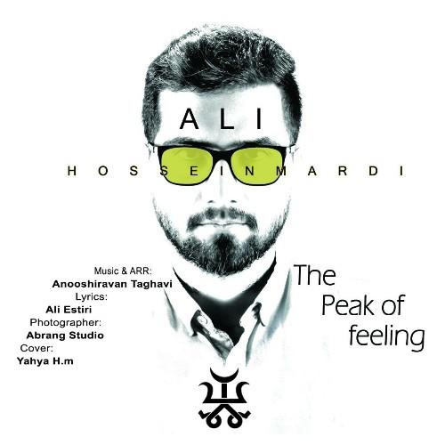 دانلود آهنگ جدید علی حسینمردی به نام قله احساس